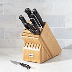 Wüsthof ® Classic Deluxe 8-Piece Knife Set with Bamboo Block