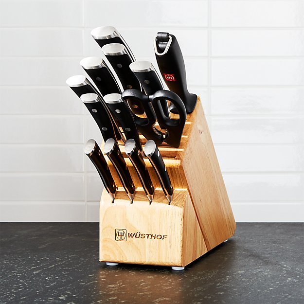 Wüsthof ® Classic Ikon 14-Piece Knife Block Set - Image 1 of 4