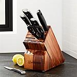 Wüsthof ® Classic Ikon 7-Piece Acacia Knife Block Set