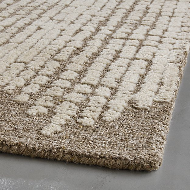 Clea Textured Rug 9 X12 Crate And Barrel