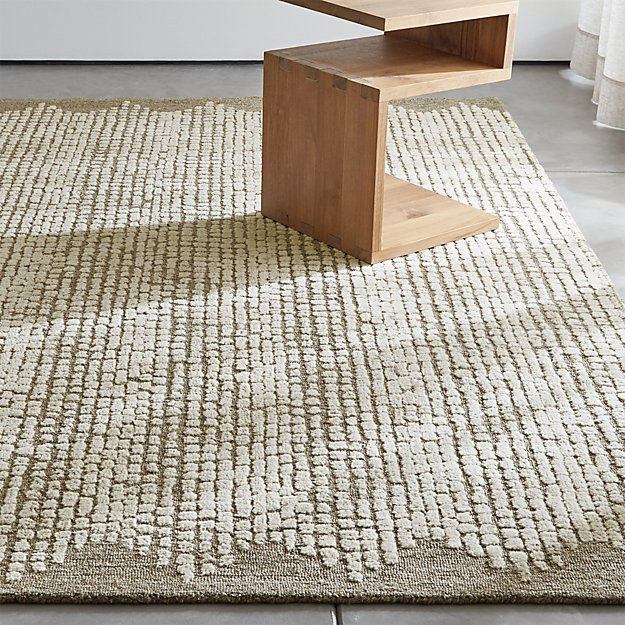 Clea Textured Rug Crate And Barrel