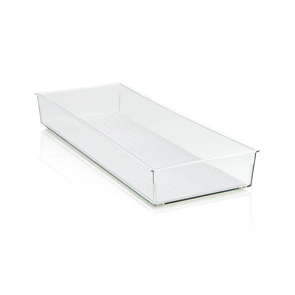Madesmart ® Clear 16x6 Drawer Bin