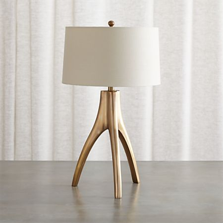 Cleo Br Tripod Table Lamp