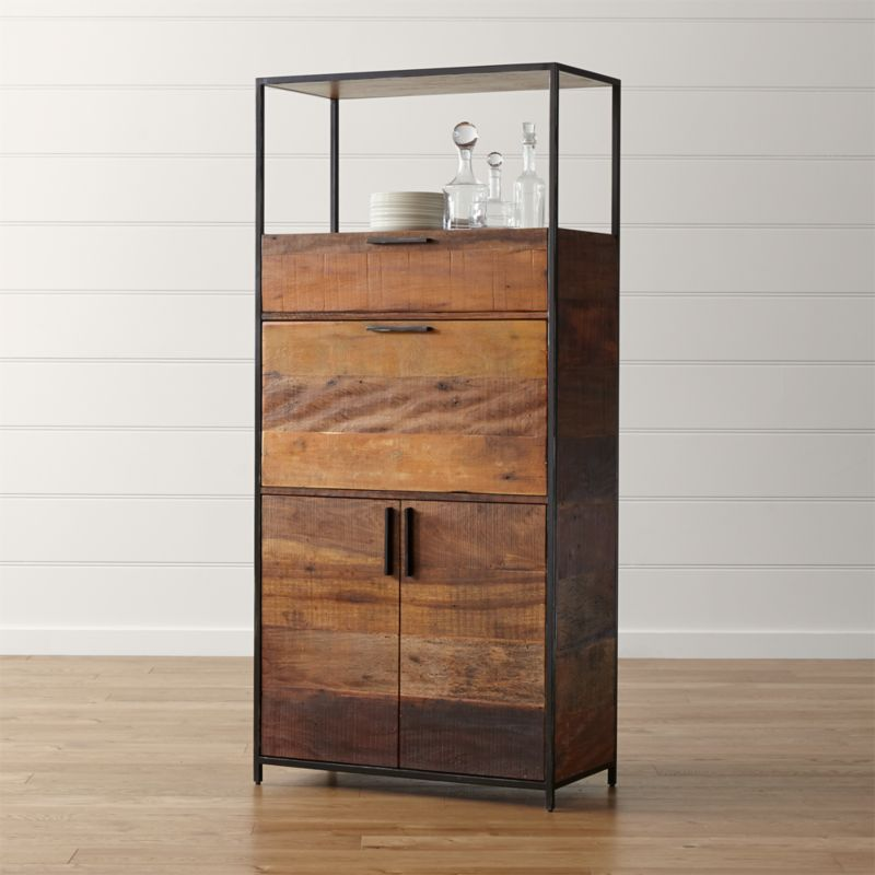 Bar Cabinets And Bar Carts | Crate And Barrel