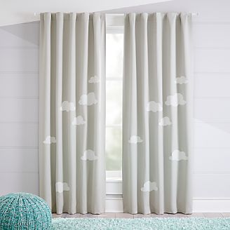 Cloud Blackout Curtains Kids