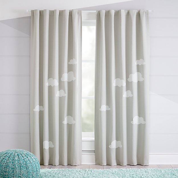 Cloud Blackout Curtains Crate And Barrel