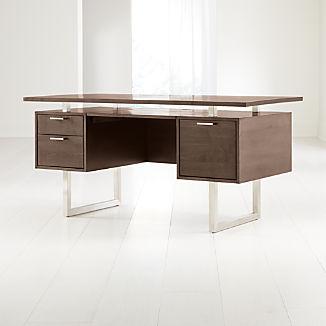 Clybourn Cocoa Executive Desk
