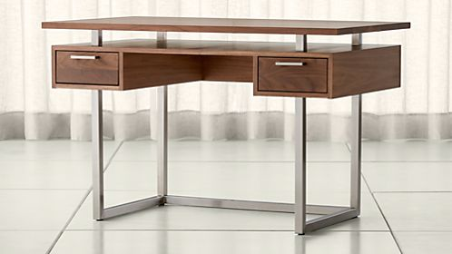 Shop Modern Desks For Home Offices Crate And Barrel