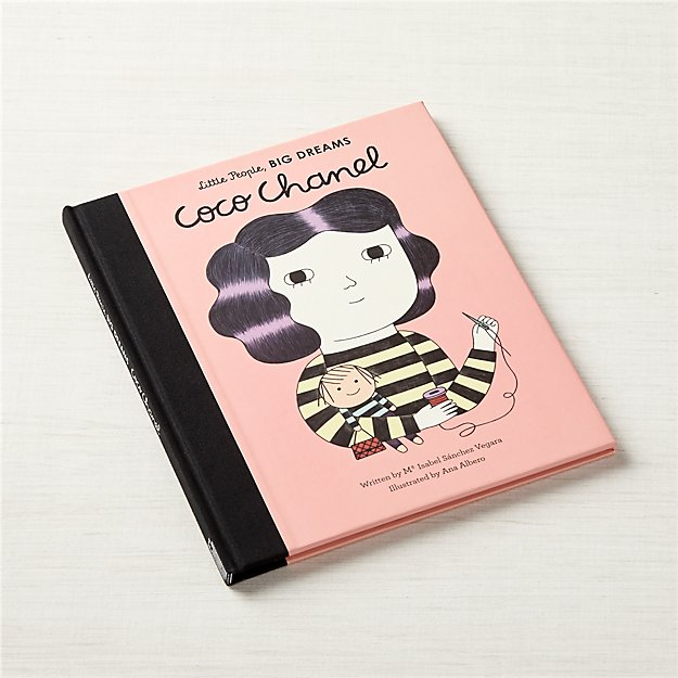 Coco Chanel Book for Kids + Reviews   Crate and Barrel