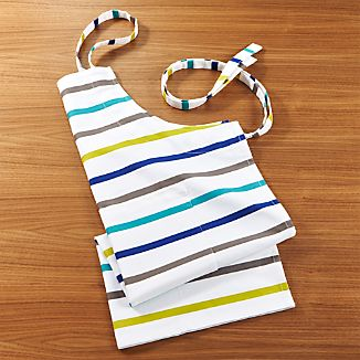 Coastal Stripe Apron
