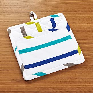 Coastal Stripe Pot Holder
