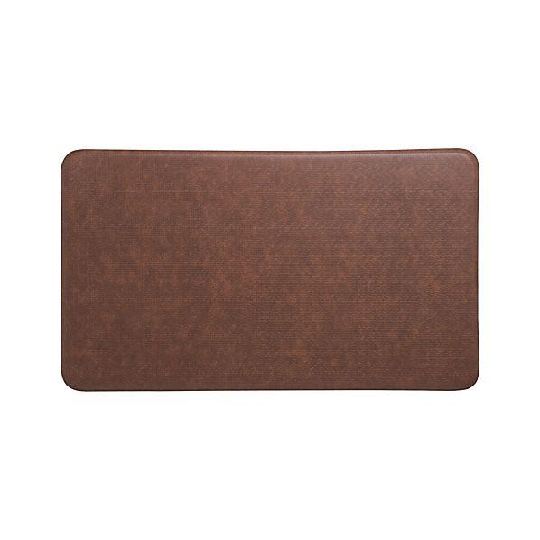 "Cobblestone Toffee 36""x20"" Comfort Mat"