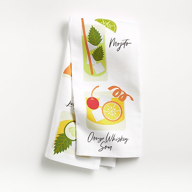 Cocktail Dish Towel - Image 1 of 4
