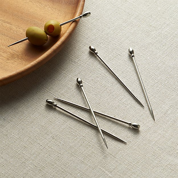 Set of 6 Cocktail Picks - Image 1 of 10