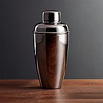 Stainless Steel Cocktail Shaker with Graphite Finish