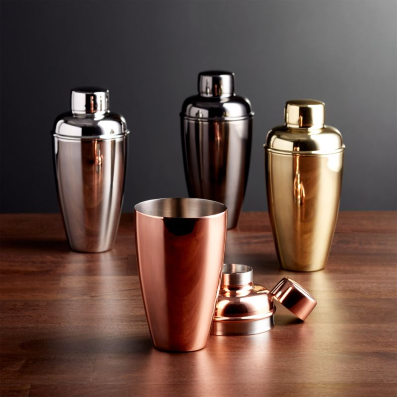 Stainless Steel Cocktail Shakers Crate And Barrel
