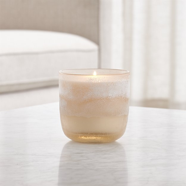 Coconut Milk Mango Mojave Glass Candle - Image 1 of 5