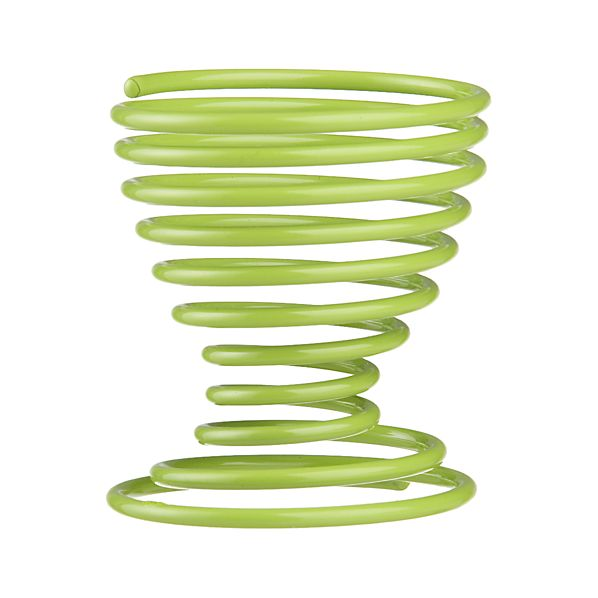 Green Coil Egg Cup
