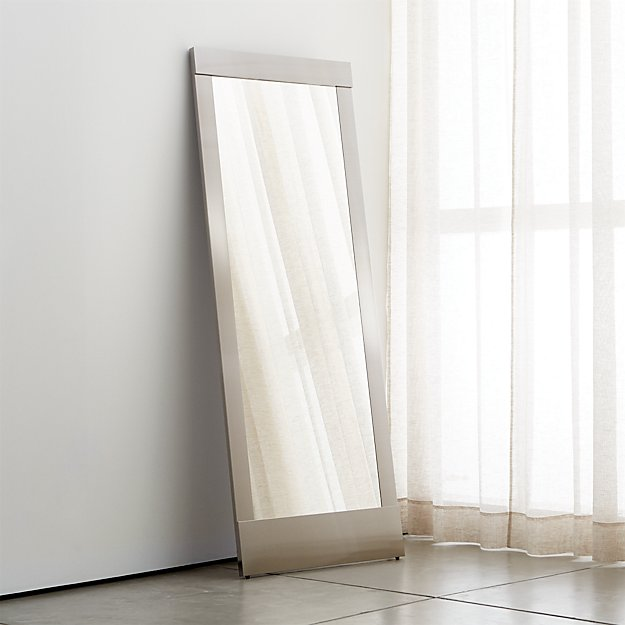 Colby Modern Floor Mirror + Reviews | Crate and Barrel