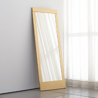Colby Soft Gold Floor Mirror