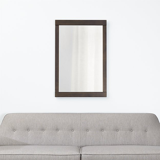 Colby Bronze Wall Mirror Crate And Barrel