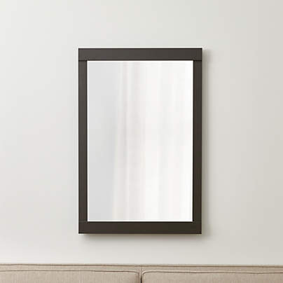 View testColby Gunmetal Wall Mirror