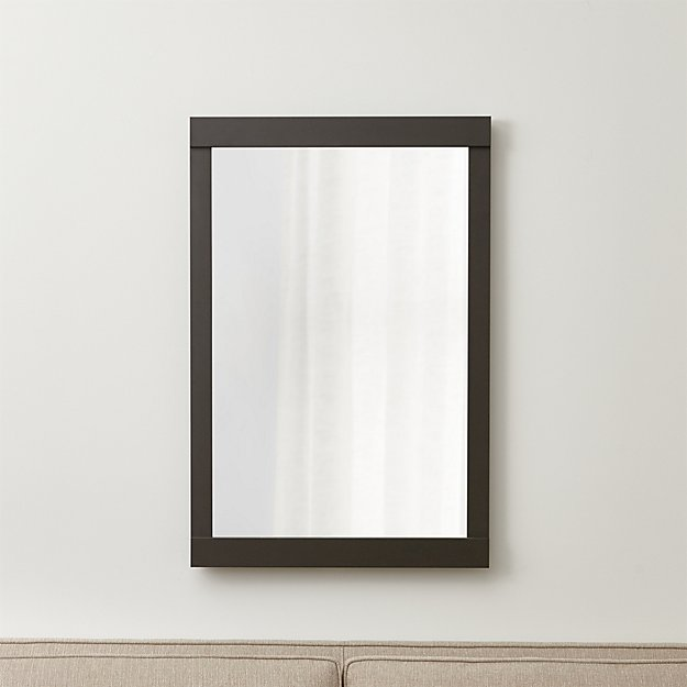 Colby Gunmetal Wall Mirror - Image 1 of 5