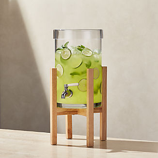 Cold Drink Dispenser with Merge Stand