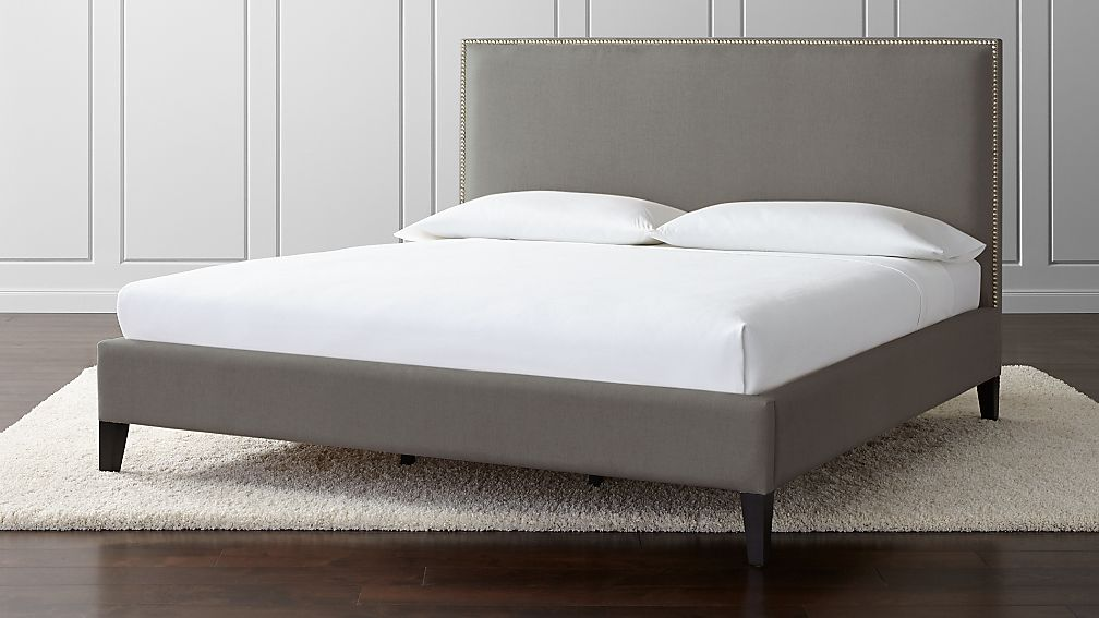 Cole King Upholstered Bed - Image 1 of 3