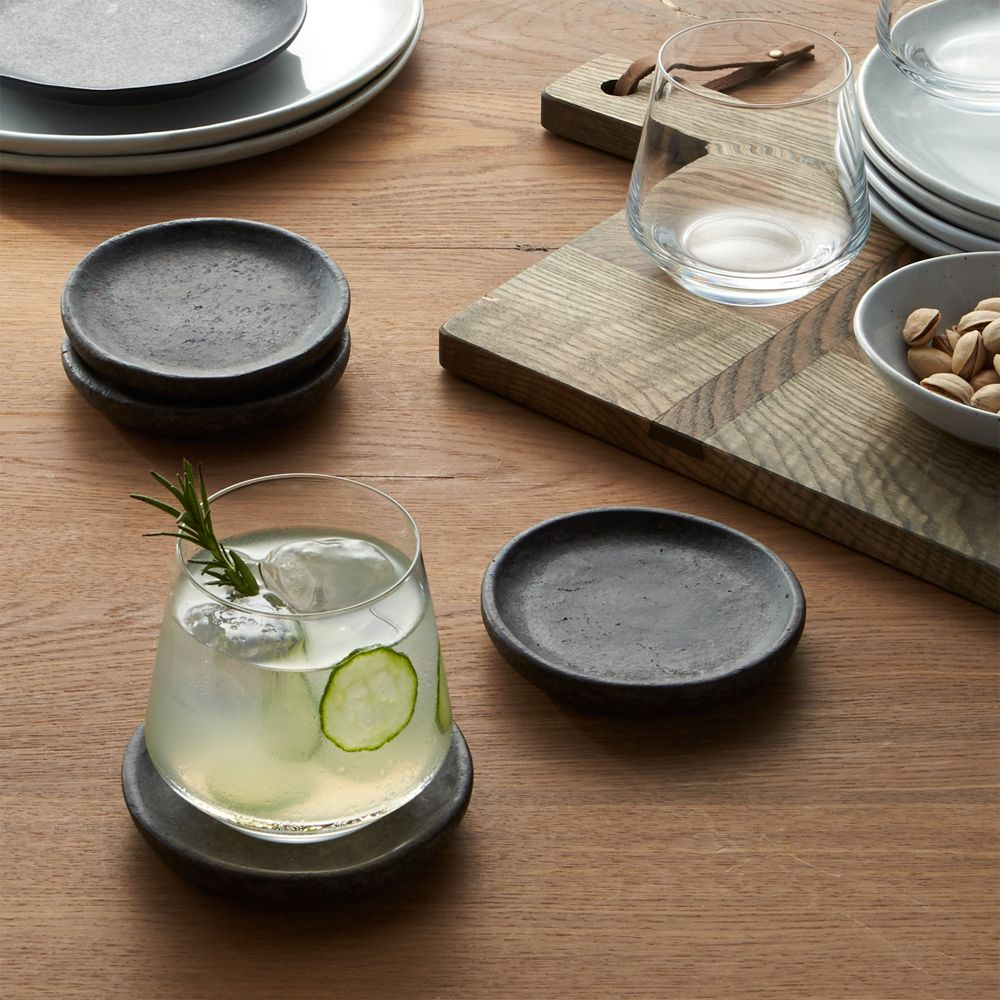 Set of 4 Cole Coasters - Crate and Barrel