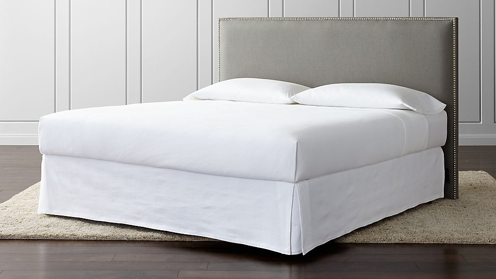 Cole Upholstered California King Headboard - Image 1 of 4