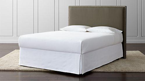 pin it cole upholstered headboard - Headboard Bed Frame