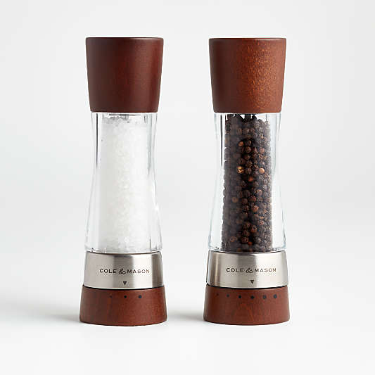 Salt And Pepper Shakers And Mills Crate And Barrel