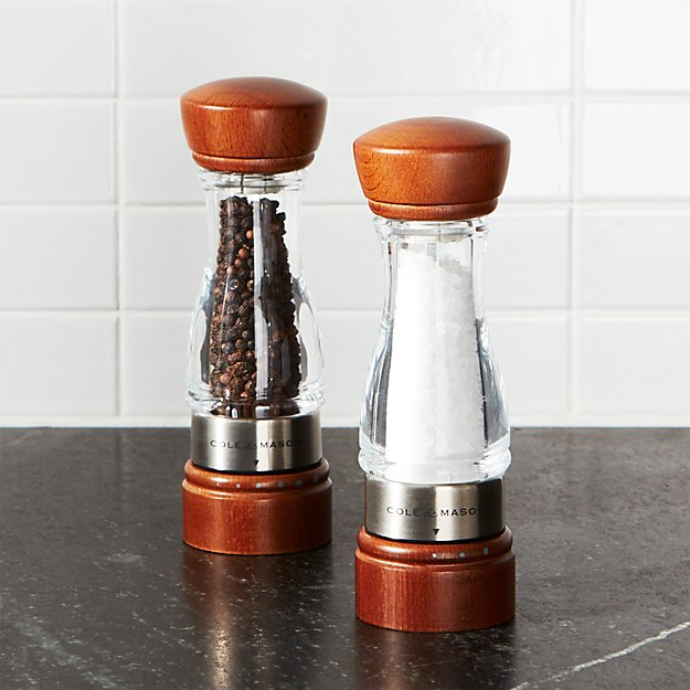Cole & Mason ® Keswick Salt and Pepper Mills