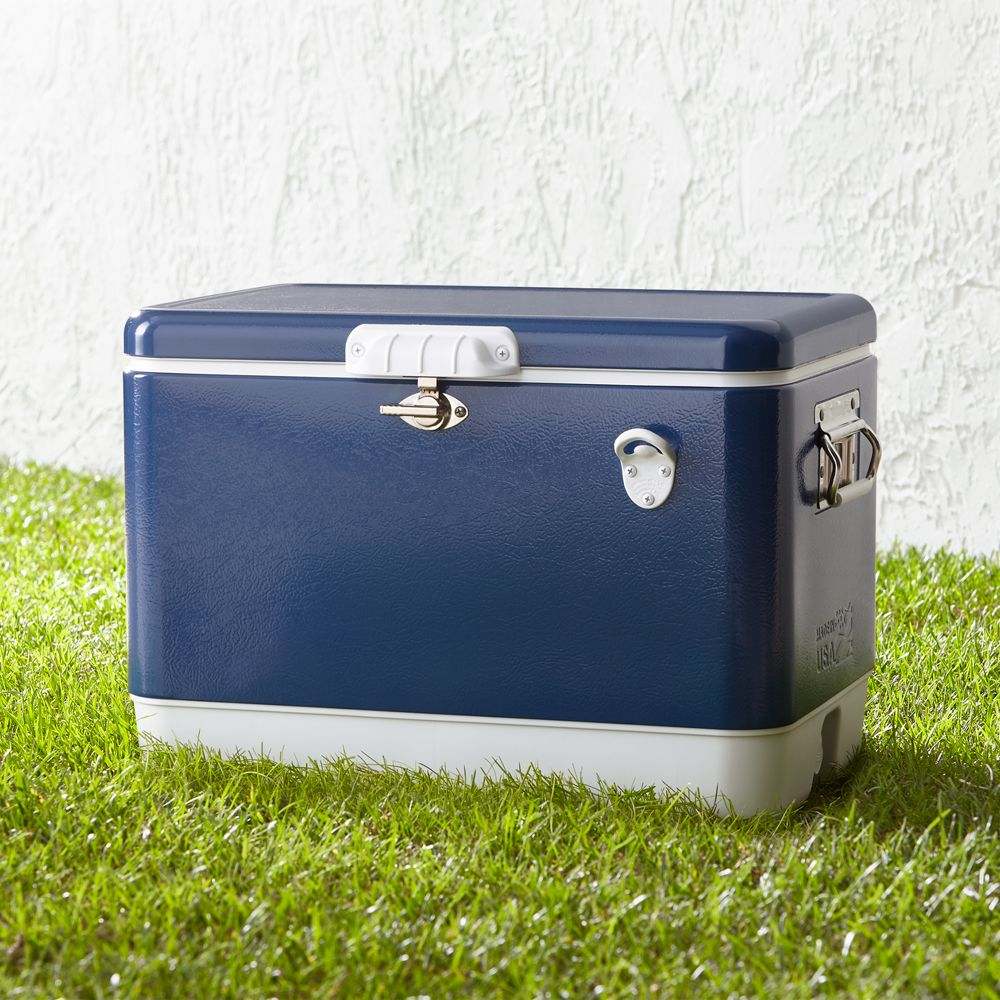 Coleman 54 qt. Steel Cooler - Crate and Barrel