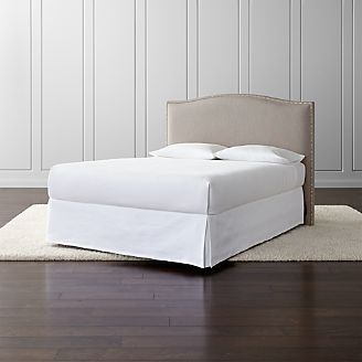 Beds Headboards And Bed Frames Crate And Barrel - Places that sell bedroom furniture