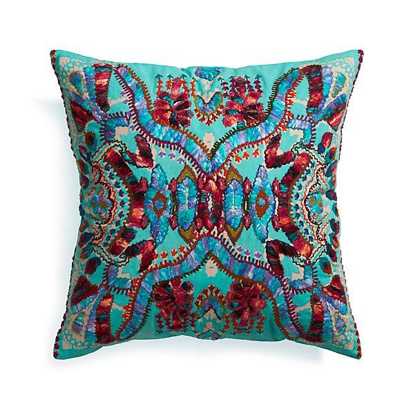 "Coletta 23"" Pillow with Down-Alternative Insert"