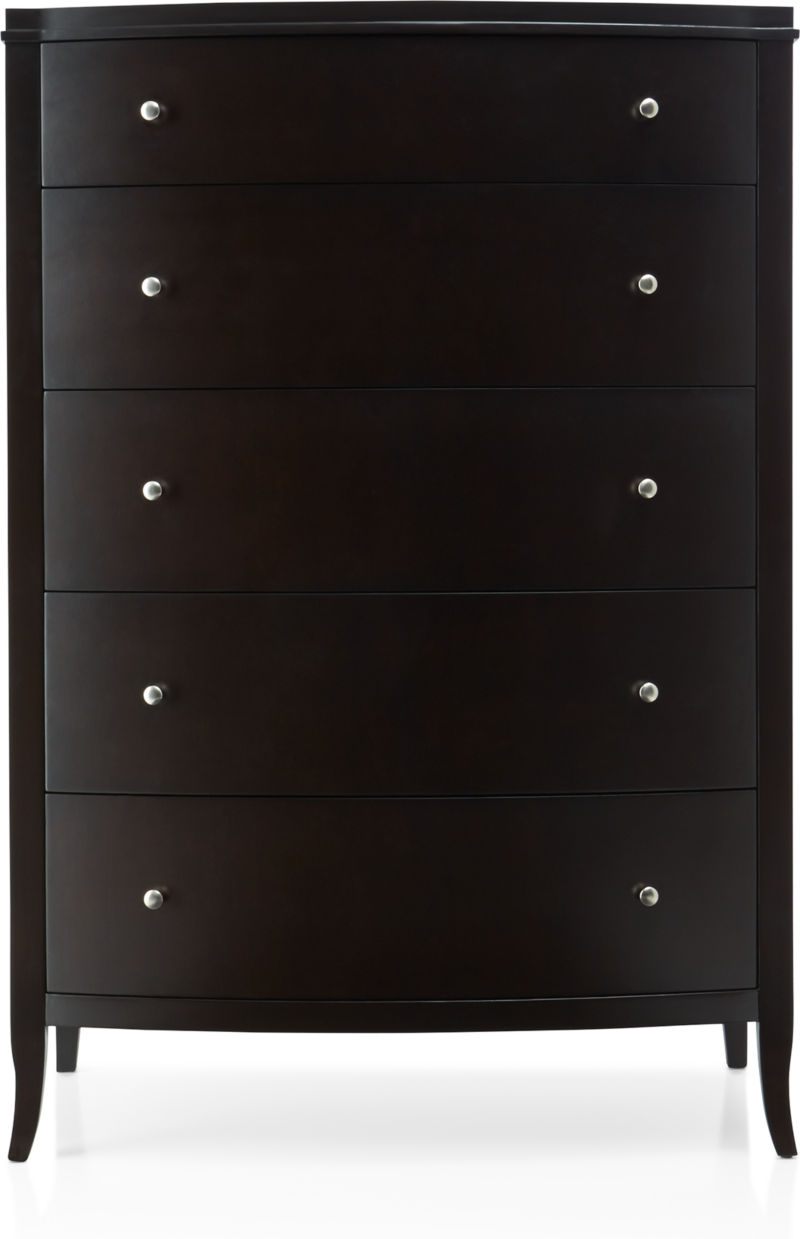 Colette Espresso 5-Drawer Chest