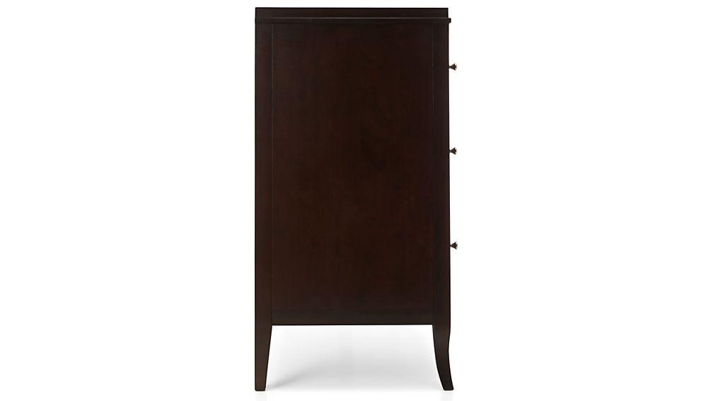 Colette Espresso 6-Drawer Dresser