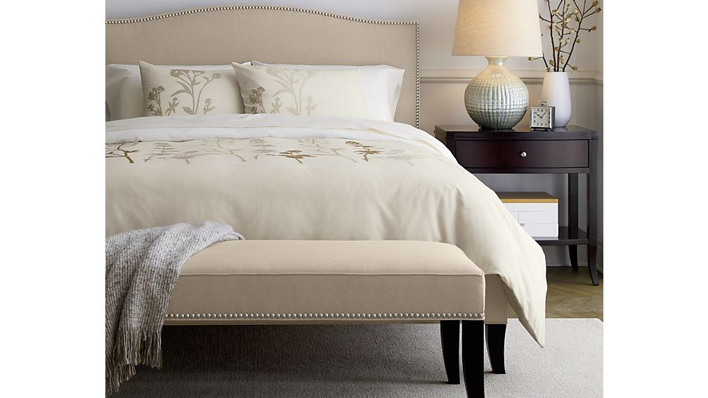 Colette Upholstered California King Bed