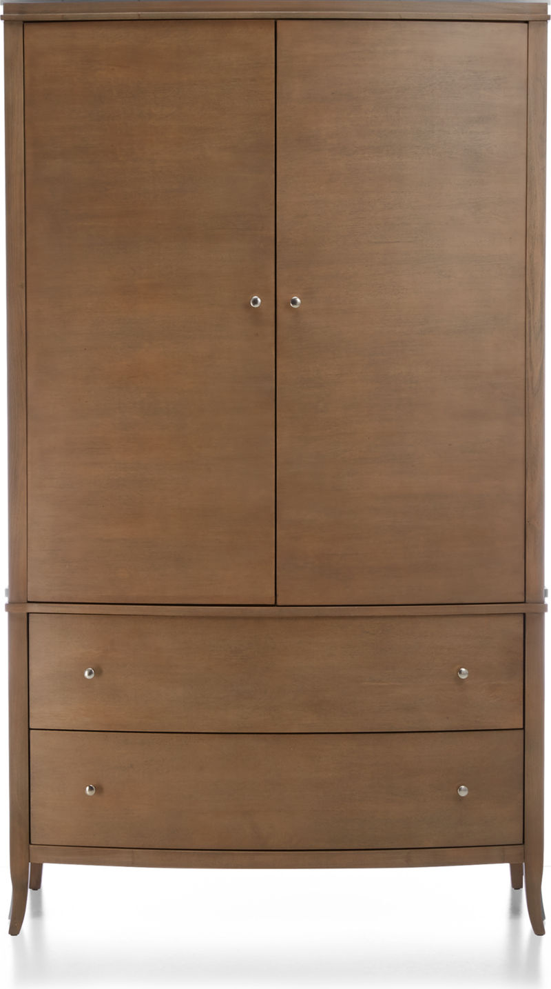 Colette Driftwood Armoire