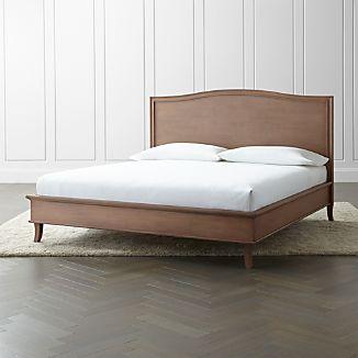 Colette Driftwood King Bed