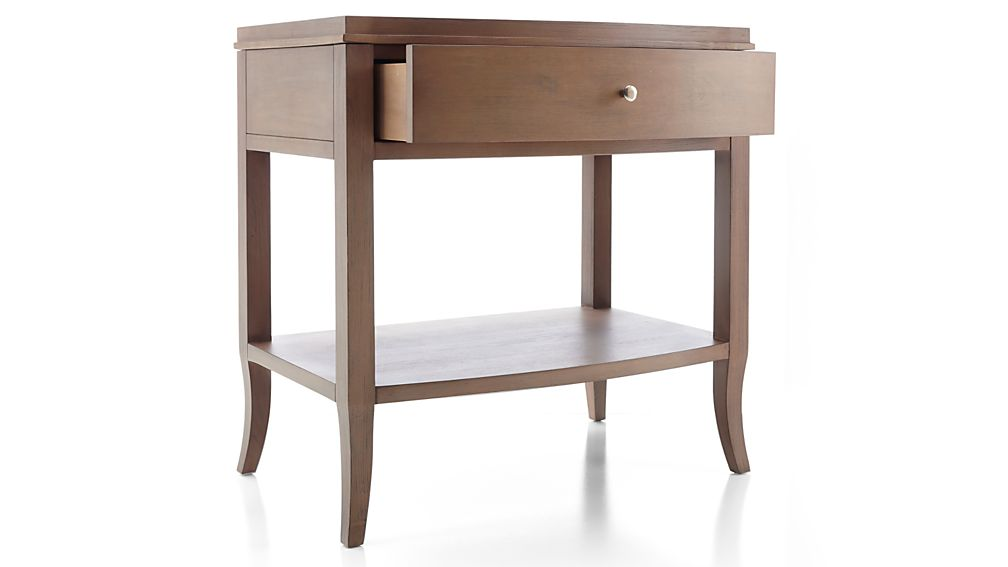 Colette Driftwood Nightstand