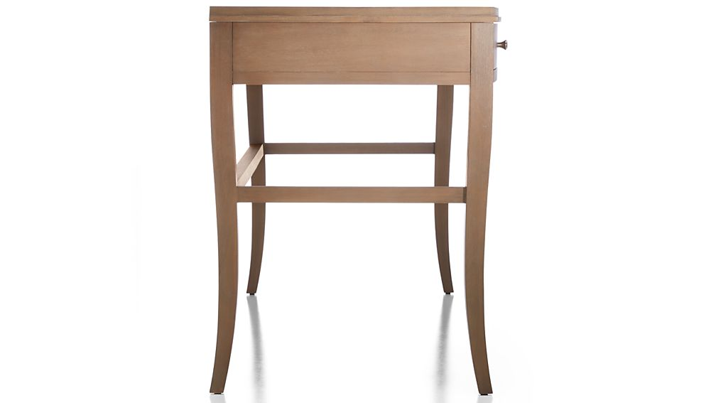 Colette Driftwood Vanity Table-Desk