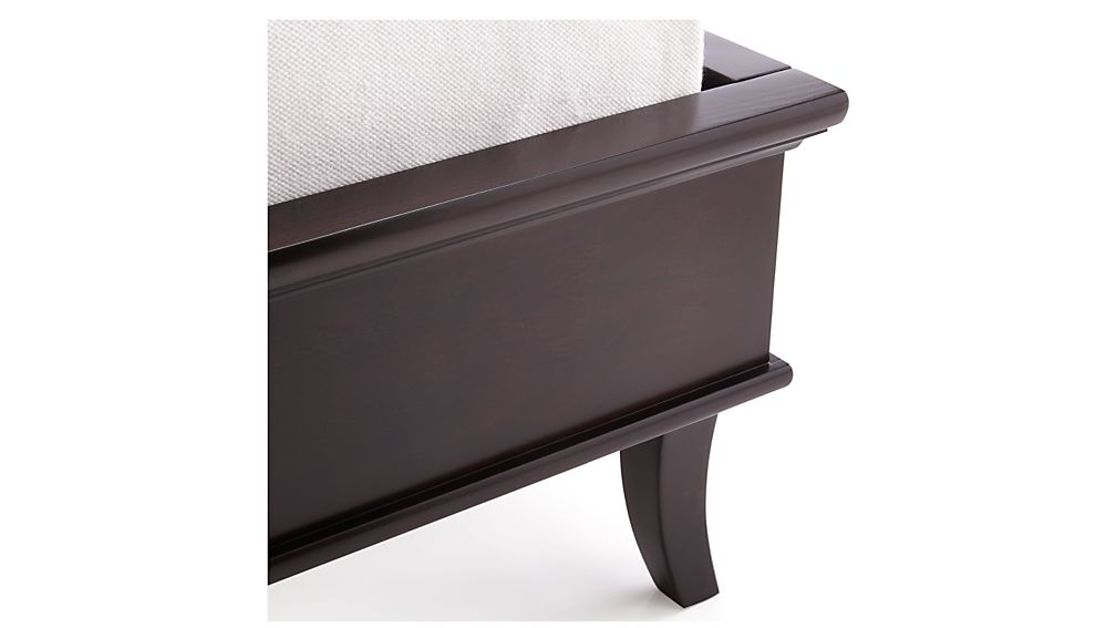 Colette Espresso Queen Bed