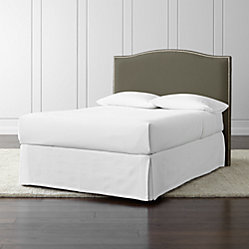 Colette California King Pewter Headboard Crate And Barrel