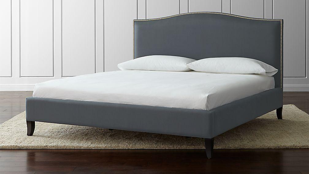 """Colette King Upholstered Bed 52.5"""" - Image 1 of 4"""