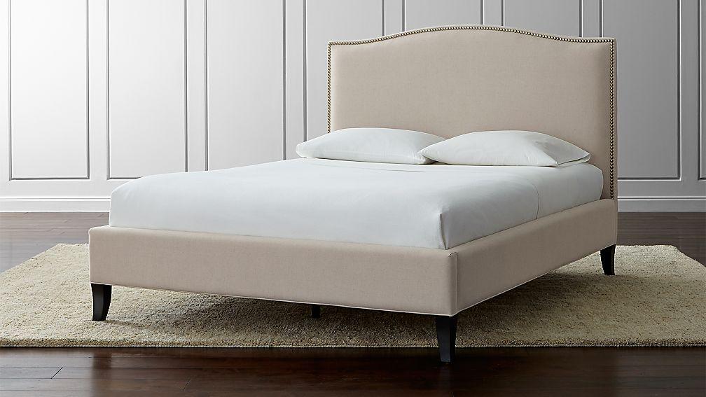 """Ebern Designs Nageshwar Platform Bed Reviews: Colette Queen Upholstered Bed 52.5"""" + Reviews"""