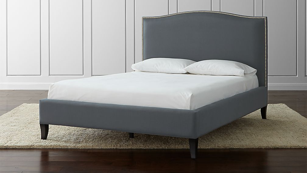 """Colette Queen Upholstered Bed 52.5"""" - Image 1 of 3"""