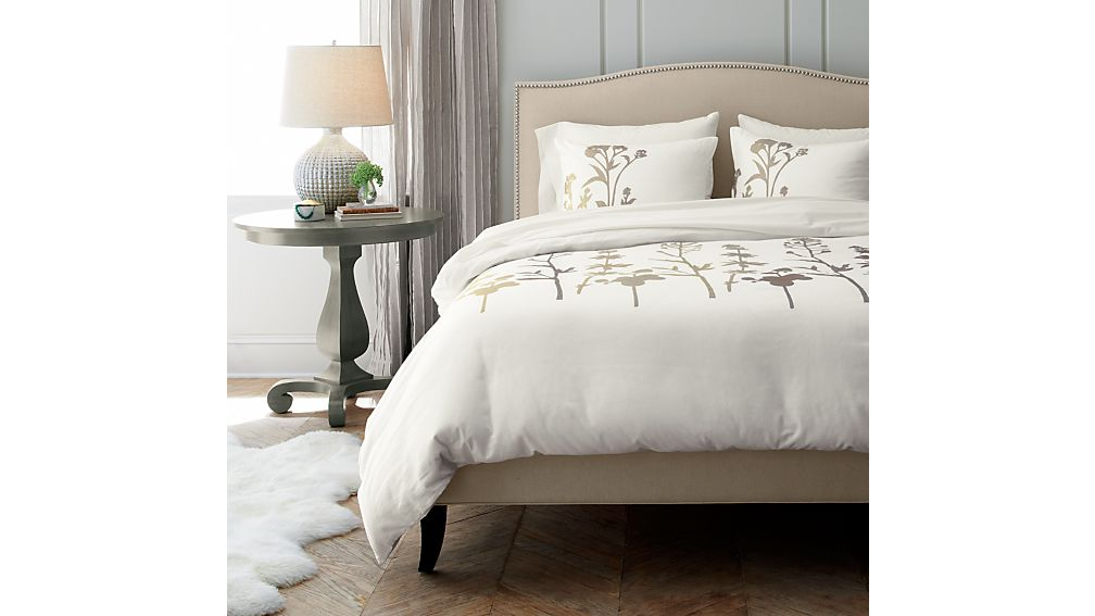 Colette Upholstered King Bed Crate And Barrel